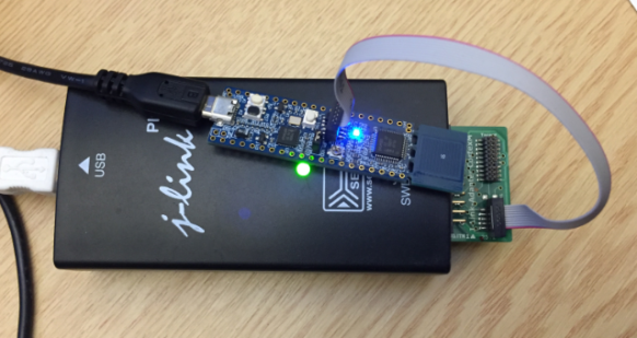 Debugging LPC845-BRK with J-Link
