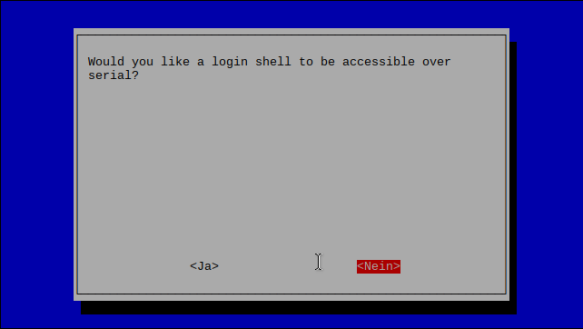 login shell disabled