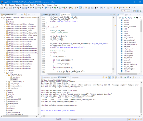 Application Build with Eclipse