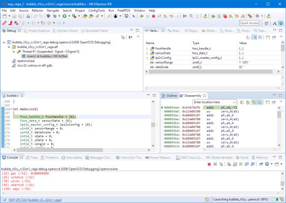 Debugging VEGA Board with OpenOCD
