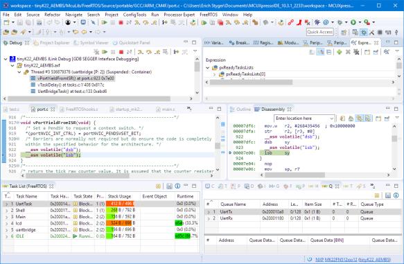 Remote Debugging with NXP MCUXpresso IDE