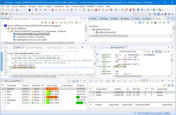 Remote Debugging with NXP MCUXpresso IDE