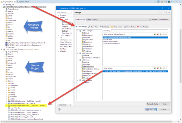 Linking CMSE Lib Object File