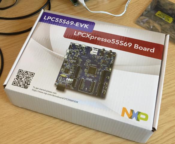 LPC55S69-EVK Box