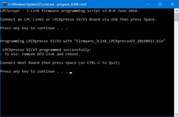 Running J-Link Script