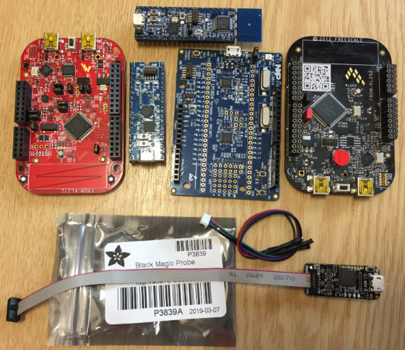 BMP with LPC and Kinetis Boards