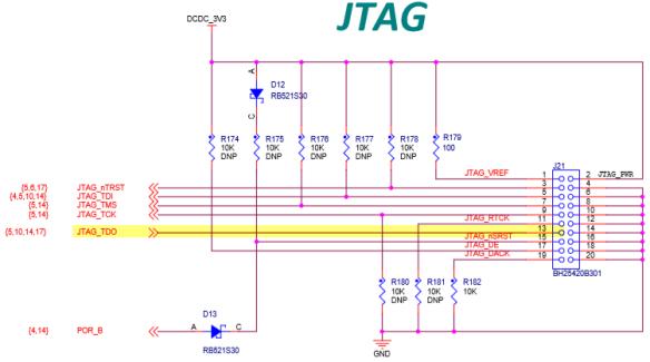 JTAG TDO Pin