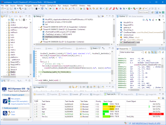 NXP MCUXpresso IDE V11.0.0