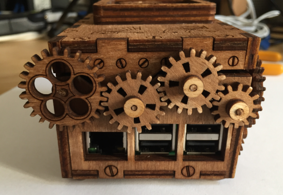 Steampunk Lasercut Enclosure for Raspberry Pi - DZone IoT