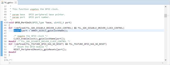 Assert() usage in SDK code