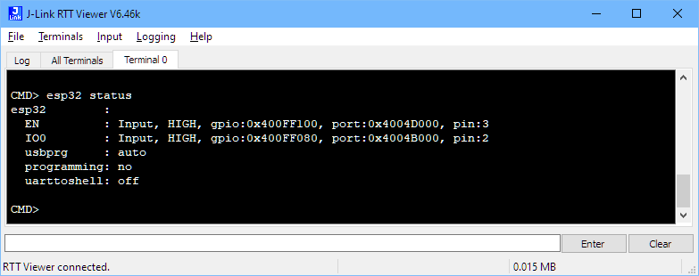 Programming the ESP32 with an ARM Cortex-M USB CDC Gateway