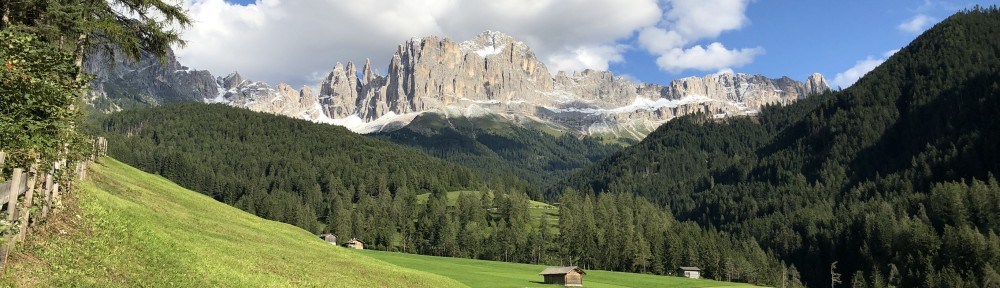 First Snow in the Dolomites