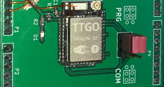 TTGO ESP32 MICRO-D4 Module