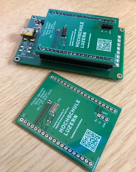 FT2232 JTAG UART PCB
