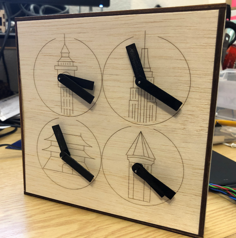 Stepper Clock