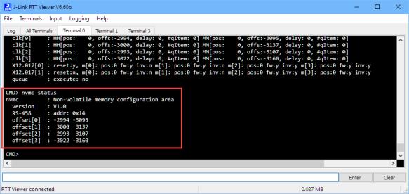Configuration in Non-Volatile Memory
