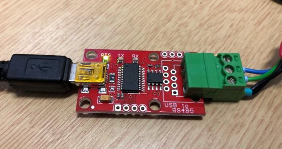 SparkFun RS-485 USB Converter