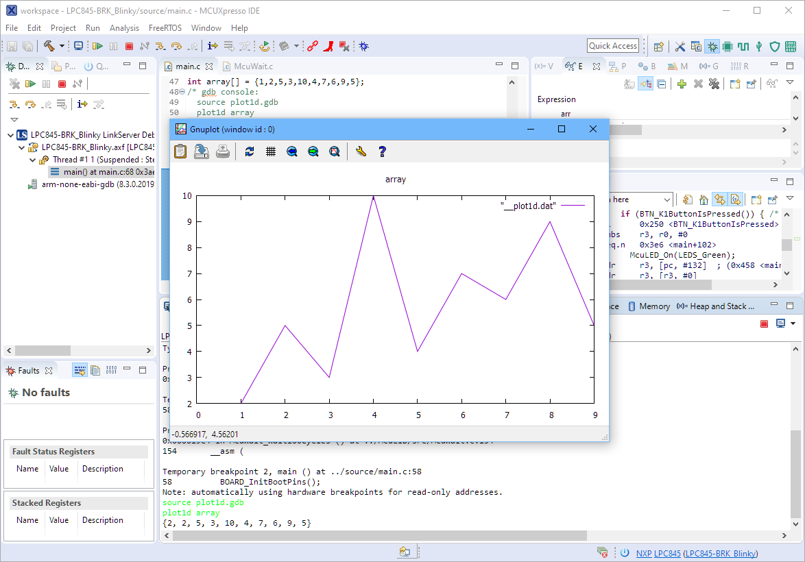 Gnuplot with Eclipse