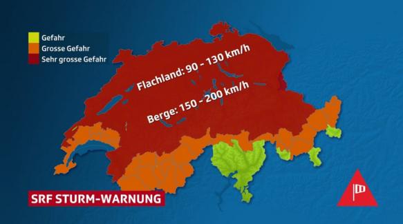 srf Sturm-Warnung