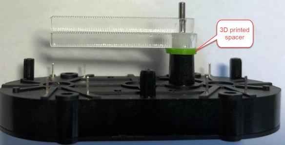 3d printed motor spacer