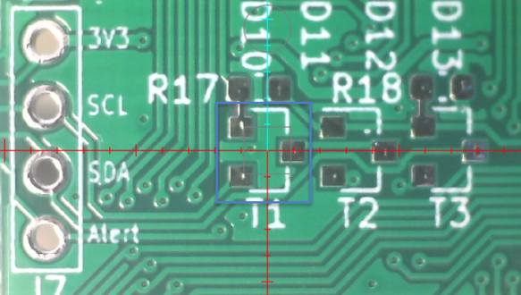 SOT-23 Footprint on PCB