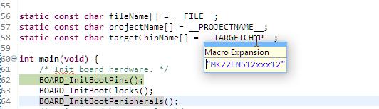 Target Chip Name