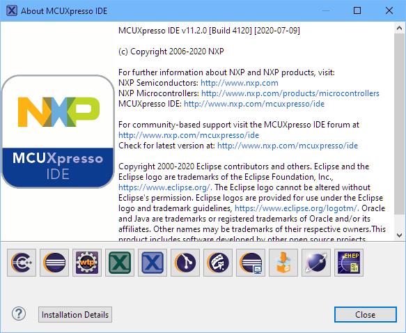 MCUXpresso IDE 11.2.0