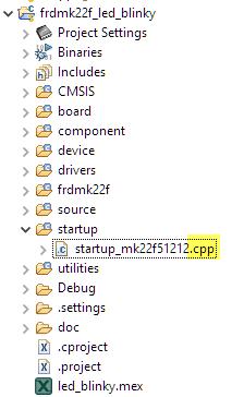 renamed statup code
