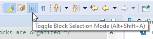 Toggle Block Selection