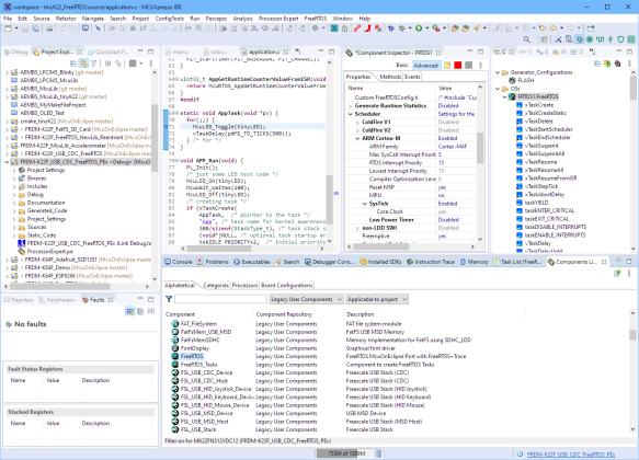 FreeRTOS Processor Expert Components