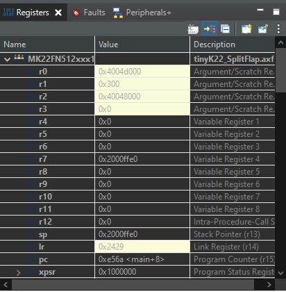 register change color dimmed