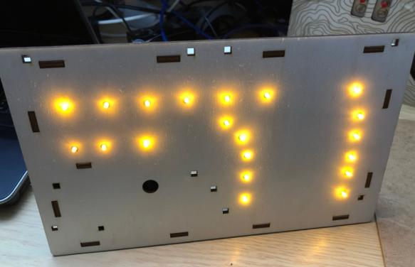 LEDs in basement