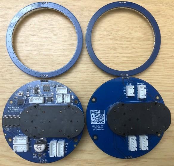 Clock PCBs (back side)
