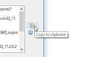 Copy script to the clipboard
