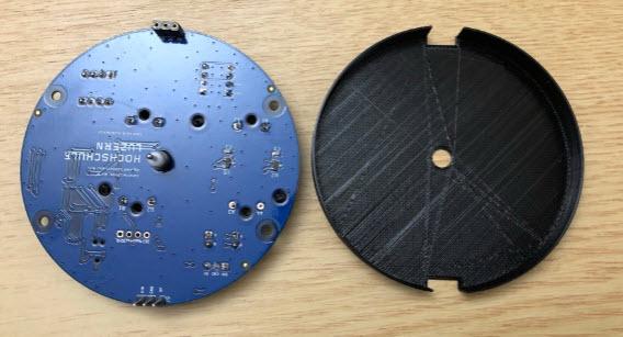 PCB and inlay