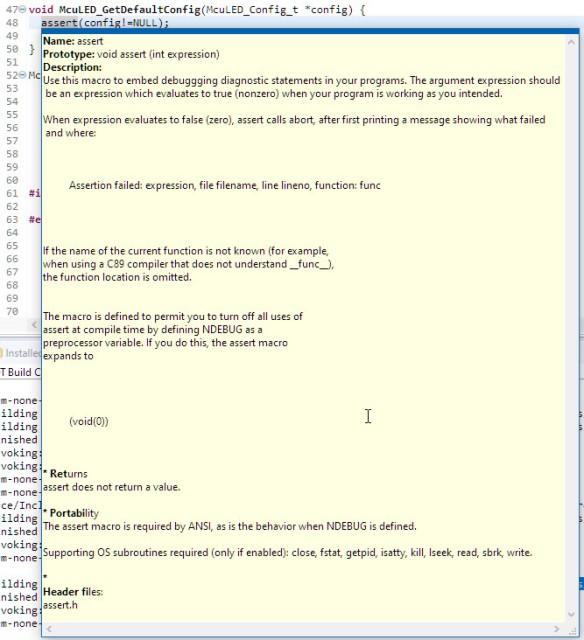 assert tooltip help