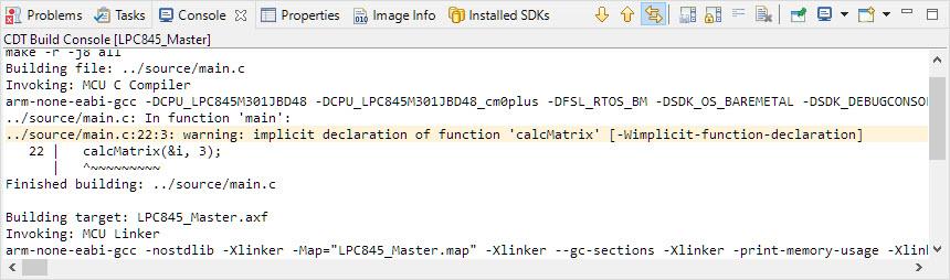 implicit declaration of function