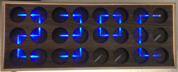 MetaClockClock Temperature Display