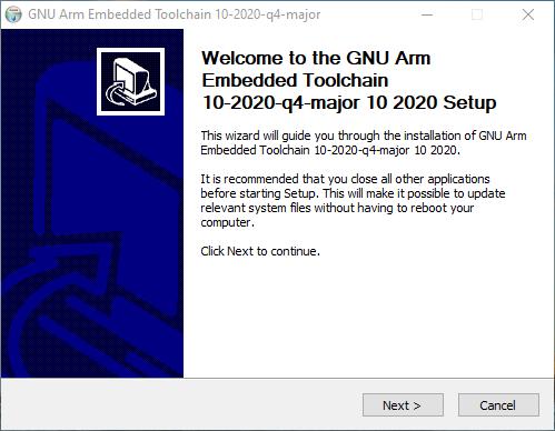 GNU Arm Embedded Toolchain